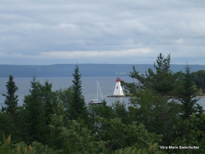 Lake scene at Baddeck