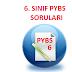 6. SINIF 2015 YILI PARASIZ YATILI BURSLULUK SINAVI SORULARI (PYBS - DPY)