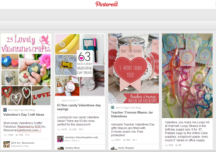 Pinterest Strategy for Business - Pin Your Way to Valentine's Day