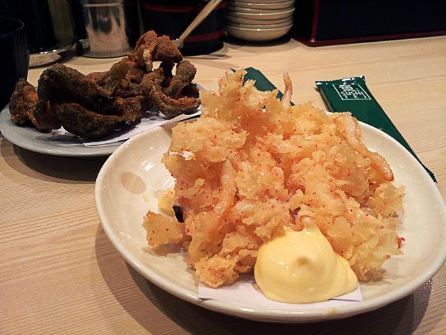 Cuttlefish tempura