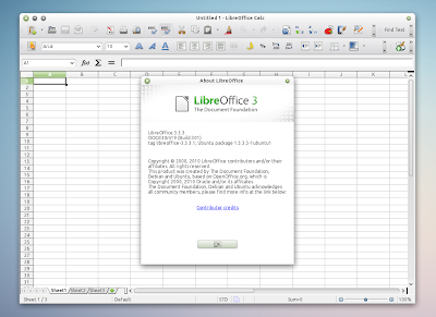 LibreOffice 3.3.3