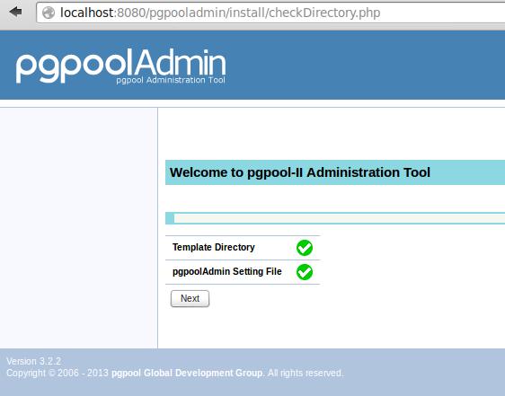 cek write access pada pgpooladmin folder | wirabumisoftware.com