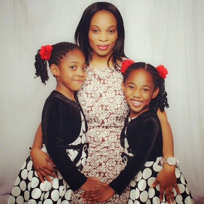 When last did you see Actress Georgina Onuoha check out her new look and her kids..