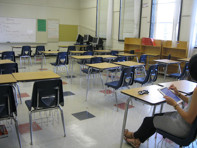 Cole Middle School Classroom