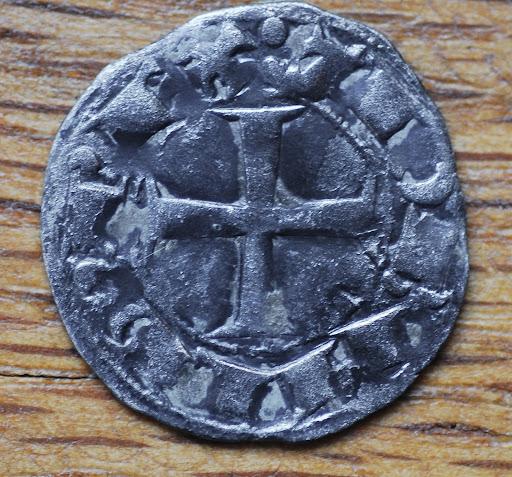 Dinero de Teobaldo I (Navarra, 1234-1253). Teobaldo%2520Ib
