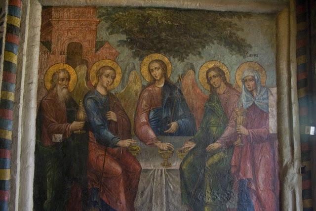 Pintura del interior de la Catedral de San Basilio