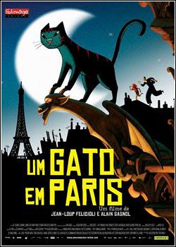 Download Um Gato em Paris Dublado Rmvb + Avi Dual Áudio + Torrent Baixar Grátis