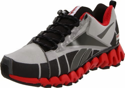 Reebok Men S Premier Zig Wild Tr Trail Running Shoe Carbon Grey Black Red White 13 M Us