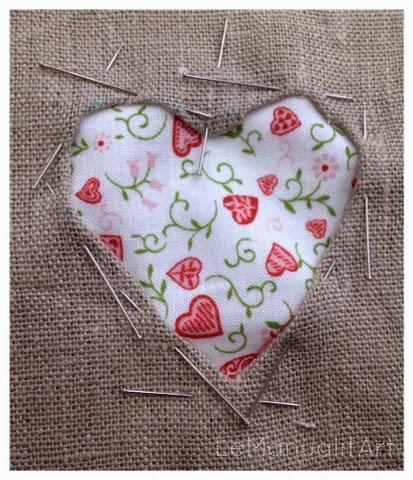 corazón - trucos de costura