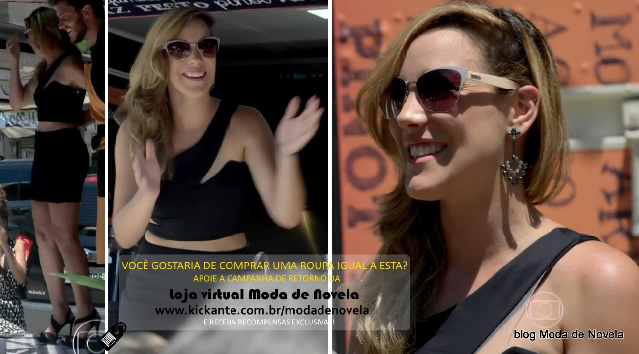 moda da novela Império, look da Amanda dia 25 de fevereiro de 2015