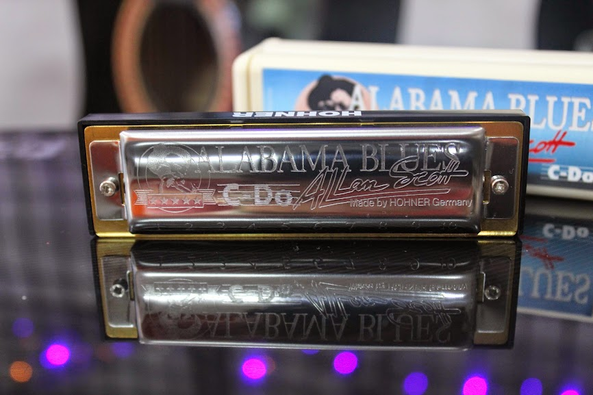 Kèn Harmonica - Hohner Alabama Blues Harp (key C)