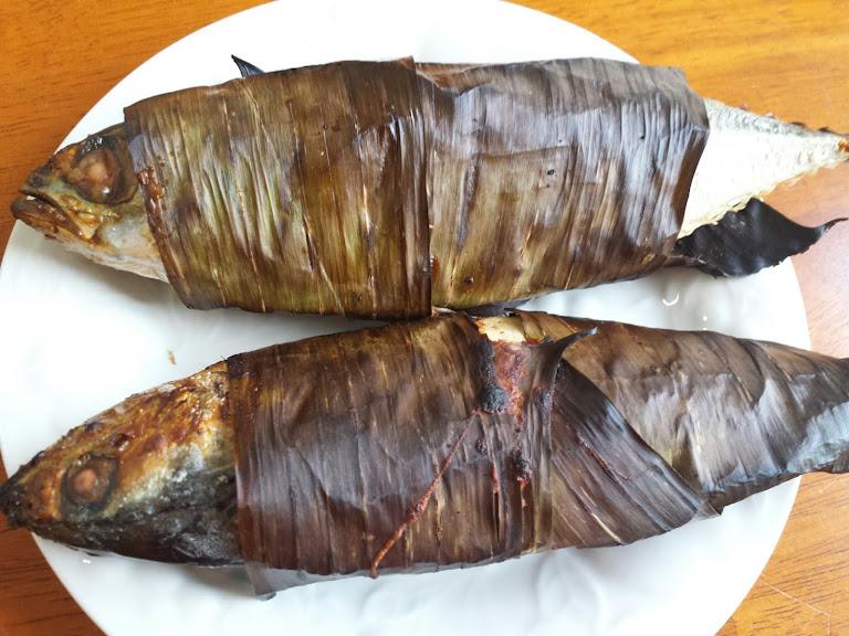 ปลาทูเค็มห่อใบตอง