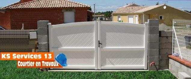 ks services 13 prix devis construction de piliers de portail. Black Bedroom Furniture Sets. Home Design Ideas