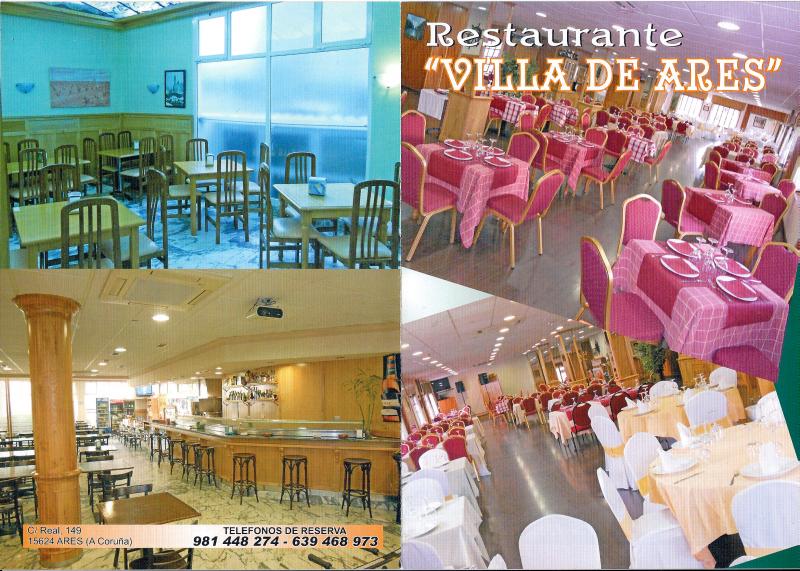 Hotel Restaurante Villa de Ares, colaborador coa A.D.R. Numancia de Ares.