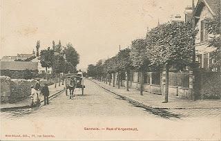 Gabriel p ri boulevard autrefois sannois for Boulevard du jardin botanique 20 22