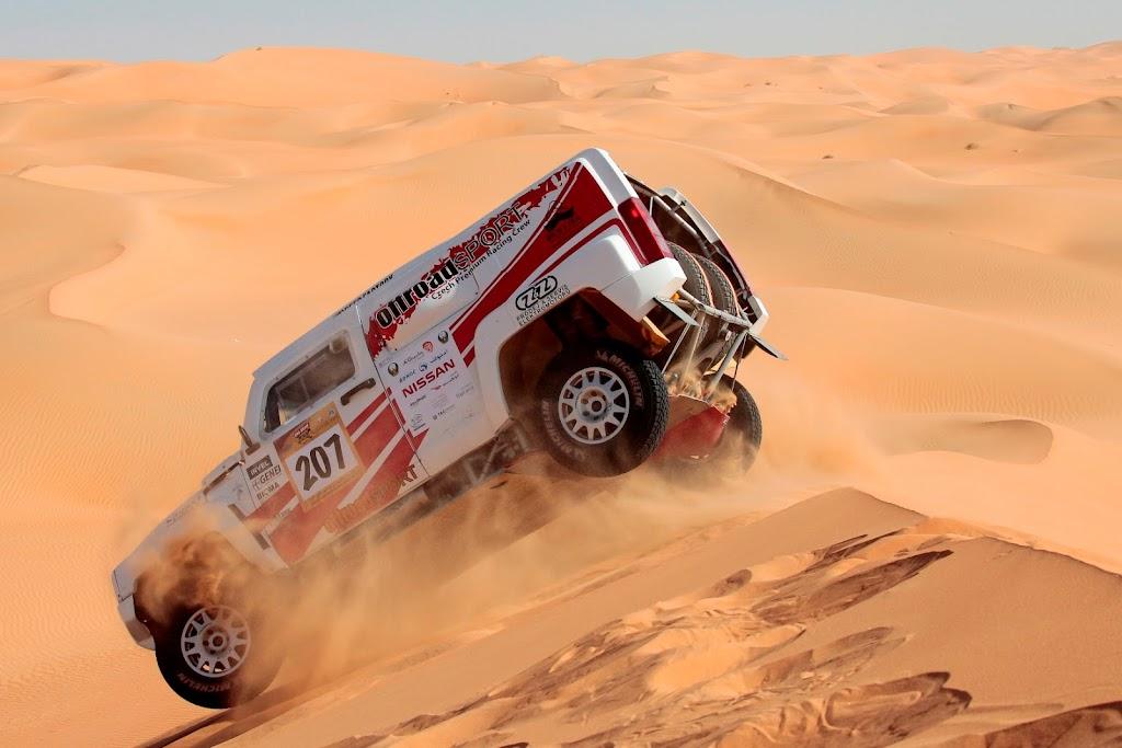 Week following the Abu Dhabi Desert Challenge