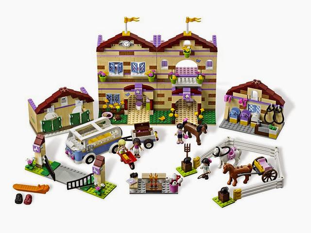 3185 レゴ カントリークラブハウス(フレンズ)