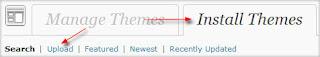 install themes wordpress