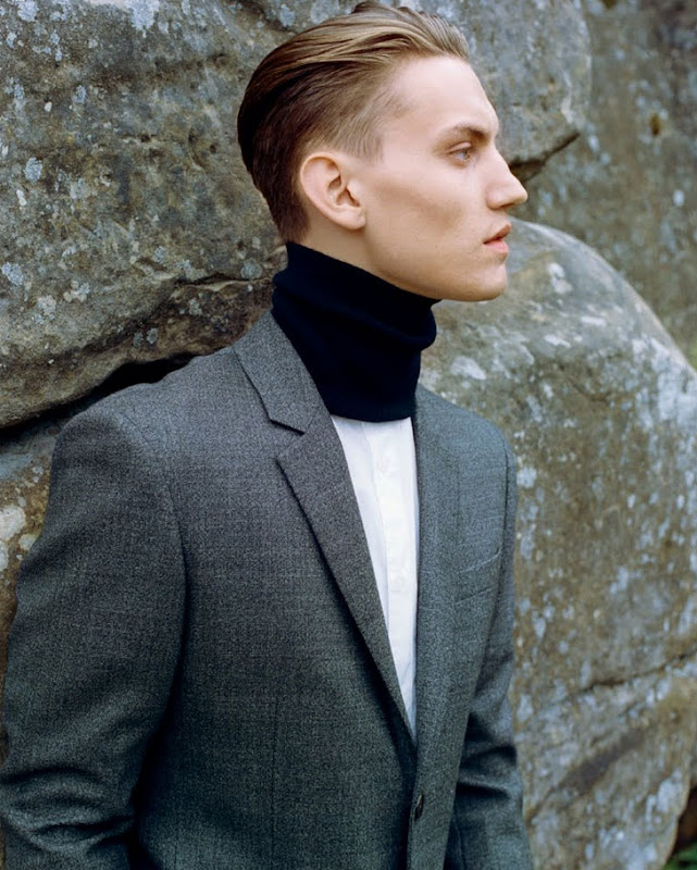 Josh McLellan by Daniel Sannwald for Harper's Bazaar China, Sept 2011
