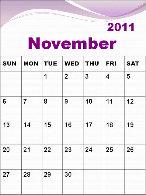 january 2011 calendar planner. blank november 2011 calendar.
