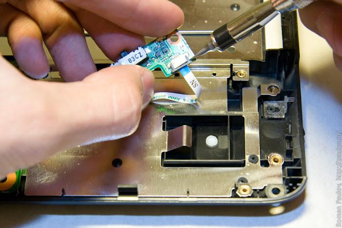 Как разобрать ноутбук Dell Inspiron 1525 41