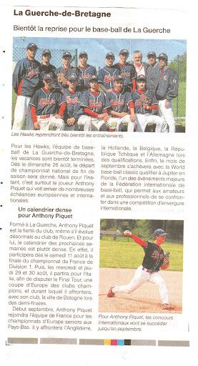 Ouest-France Aout 2012