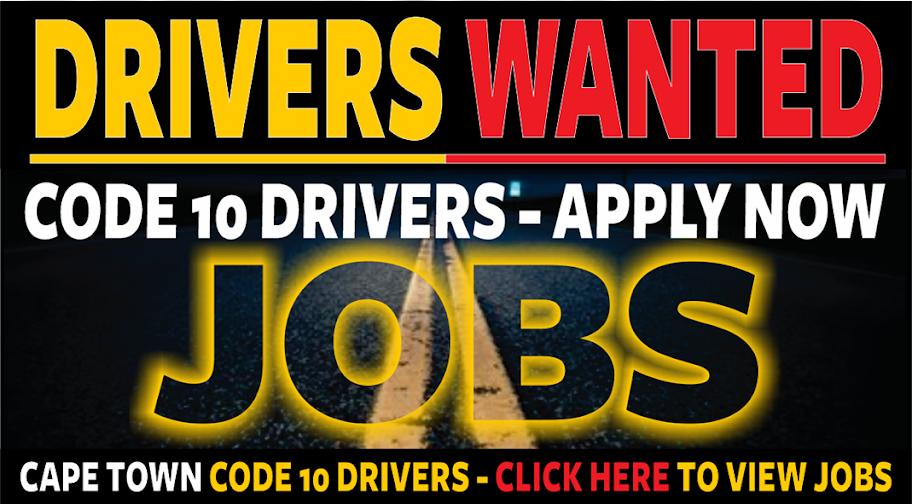 Code 10 Driver Jobs