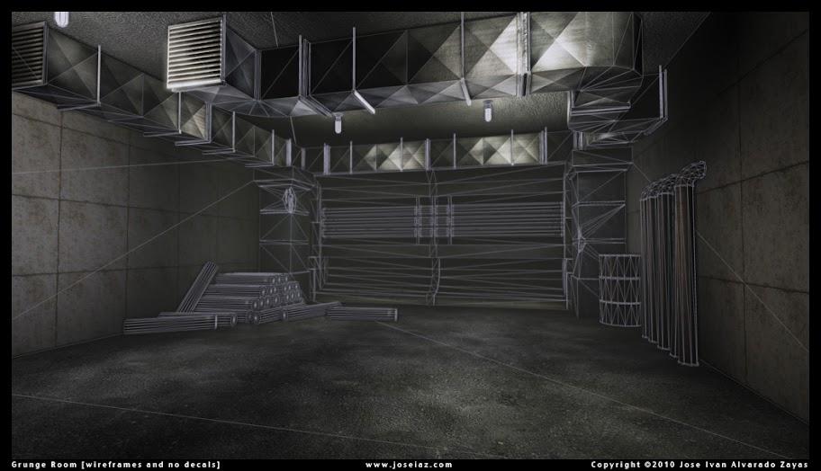 Grunge Room Environment by Jose Ivan Alvarado Zayas