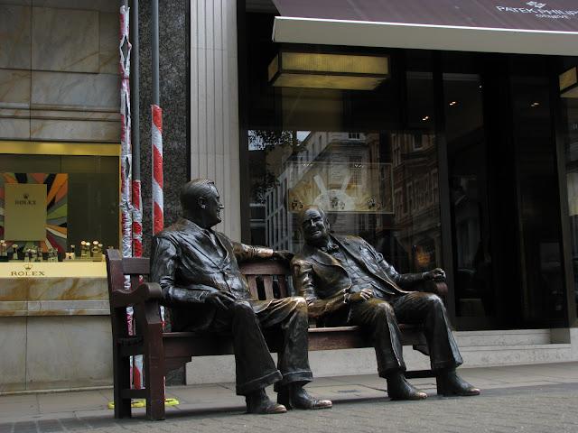 Roosevelt a Churcill