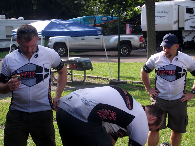 Completely deflated at the Lionheart Adventure Race