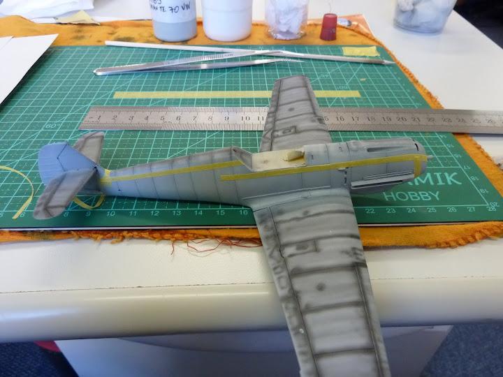 Bf-109 E-3 Tamiya 1/48 - Reforma pintura P1020473