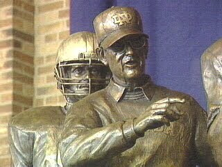 Hoodwinked Coach Holtz of Notre Dame