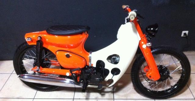 Honda C70 By Dodi Galeri Motor