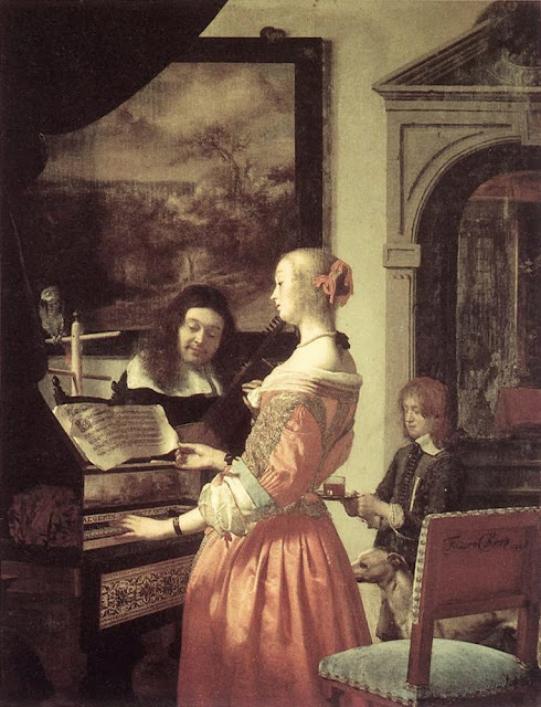 Frans van Mieris the Elder - Duet