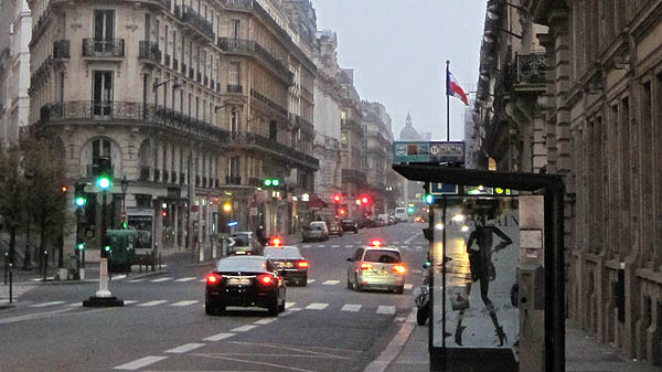 パリの大通り