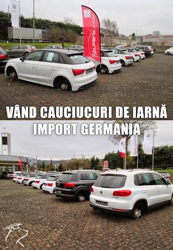 Vînd cauciucuri de iarnă import Germania