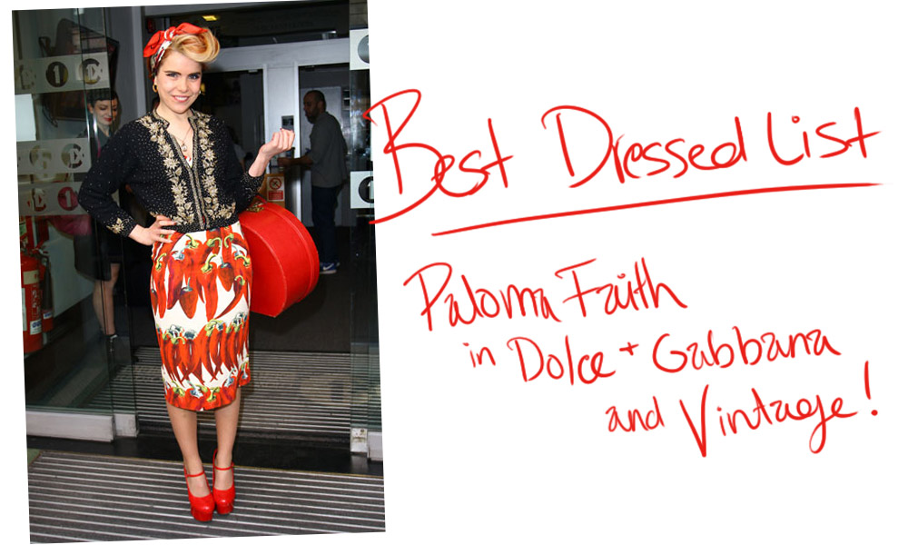 Wearing Vintage [Paloma Faith]