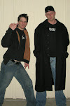 Tony got Dale's duster... so we did a Jay & Silent Bob picture