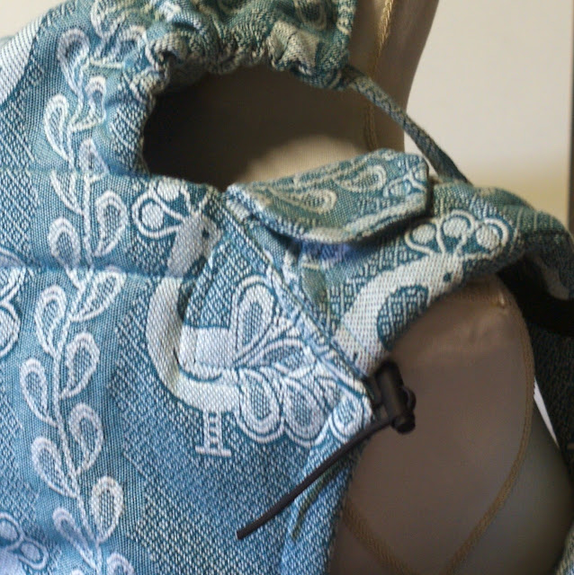 Didymos Pfau Petrol Wrapconversion SSC - MamaMerel