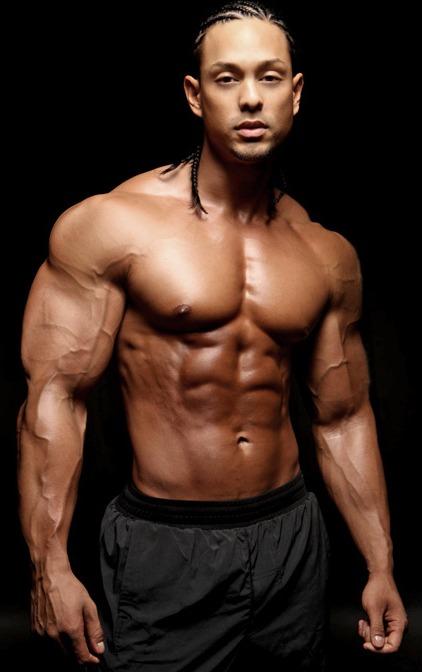 """DAVID DUST: Featured Model/Bodybuilder - Mark Anthony """"Flex"""""""