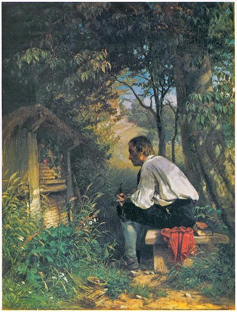 Hans Thoma - Der Bienenfreund