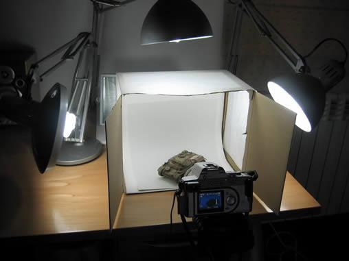 Mini estúdio 2 - detalhe