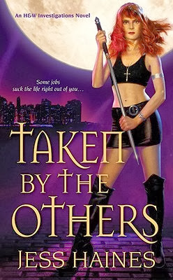 Taken by the Others by Jess Haines {Amanda's Review}