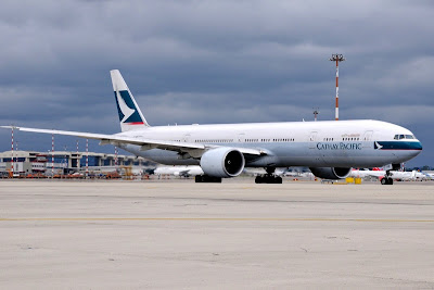 Cathay Pacific Airways. ZonaAero