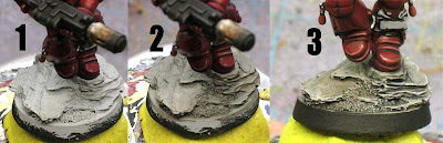 Painting urban bases step by step