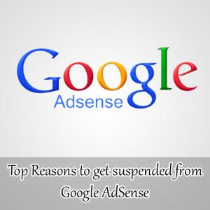 Alasan Mendapatkan Suspend dari Google AdSense