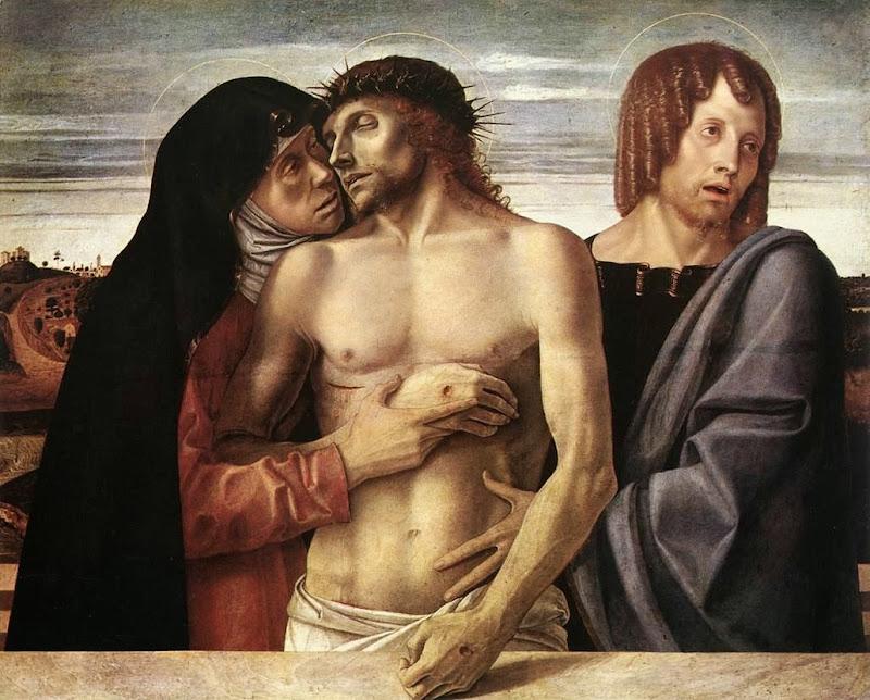 Giovanni Bellini - Pietà, (1465)