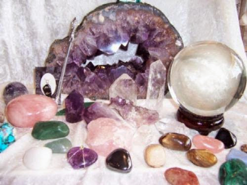 Charging Gems And Stones For Healing