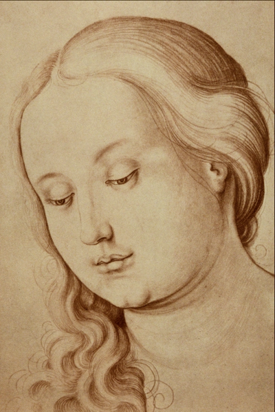 Hans Baldung - Portrait of a Young Girl