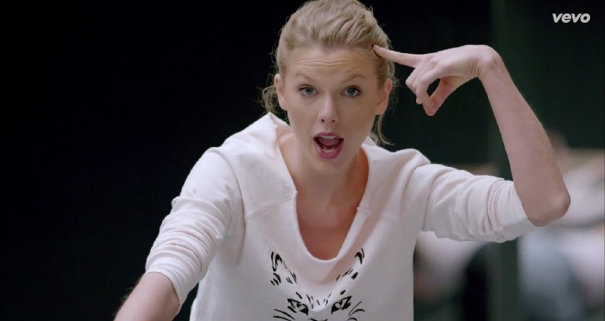 Taylor Swift Shake It Off VEVO Music Video 06-19-08-2014